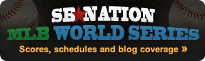 MLB World Series blog coverage on SB Nation
